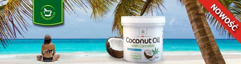 Olek kokosowy z konopiami
